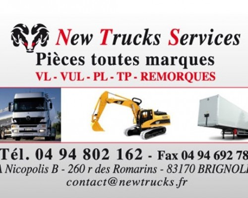 New Trucks Services